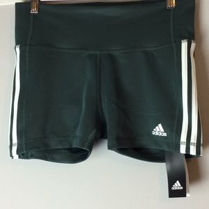 NWT Adidas Original Climalite Three Stripe Shorts